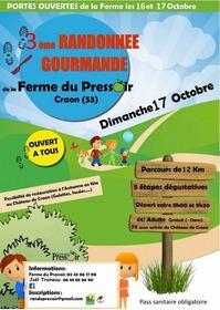 3ÈME RANDONNÉE GOURMANDE