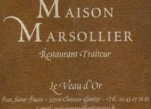 RESTAURANT LE VEAU D'OR, MAISON MARSOLLIER - Château-Gontier-sur-Mayenne