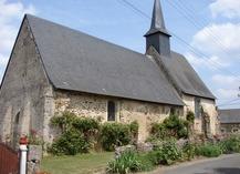 CHAPELLE DE ST MARTIN DE VILLENGLOSE - Saint-Denis-d'Anjou