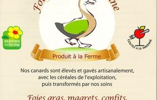 FOIE GRAS DU DOMAINE - Marigné-Peuton