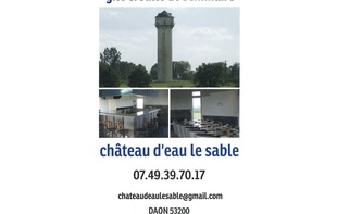 CHÂTEAU D'EAU LE SABLE - Daon