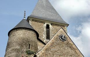 TOUR DE L'EGLISE DE ST DENIS D'ANJOU - Saint-Denis-d'Anjou