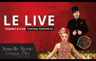LE LIVE - CABARET CLUB - Azé