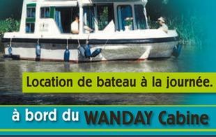 LES CANALOUS LOCATION DE BATEAUX SANS PERMIS - Daon