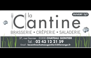 BRASSERIE CREPERIE LA CANTINE - Château-Gontier-sur-Mayenne