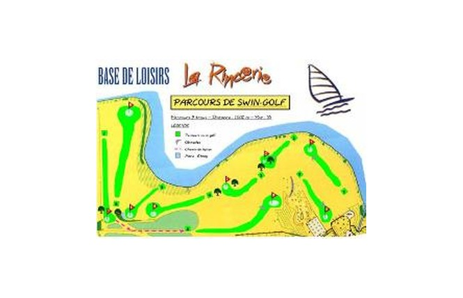 BASE DE LA RINCERIE - ACTIVITE SWIN GOLF 1 - La Selle-Craonnaise