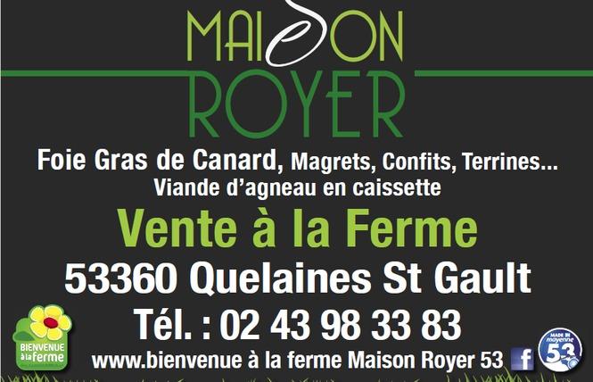 MAISON ROYER 1 - Quelaines-Saint-Gault