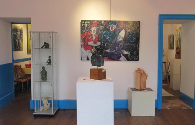 GALERIE D'ART MUNICIPALE ''LA MAISON BLEUE'' 3 - Craon