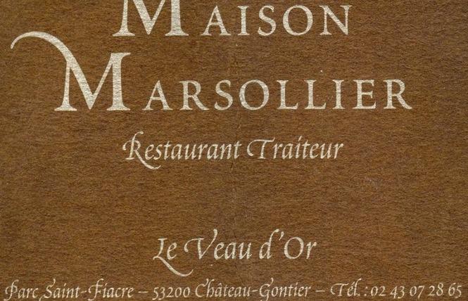 RESTAURANT LE VEAU D'OR, MAISON MARSOLLIER 1 - Château-Gontier-sur-Mayenne