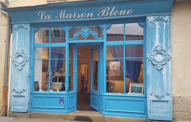 ''LA MAISON BLEUE'' GALERIE D'ART ET FOURRE-TOUT CULTUREL 6 - Craon