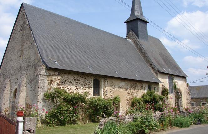 CHAPELLE DE ST MARTIN DE VILLENGLOSE 1 - Saint-Denis-d'Anjou