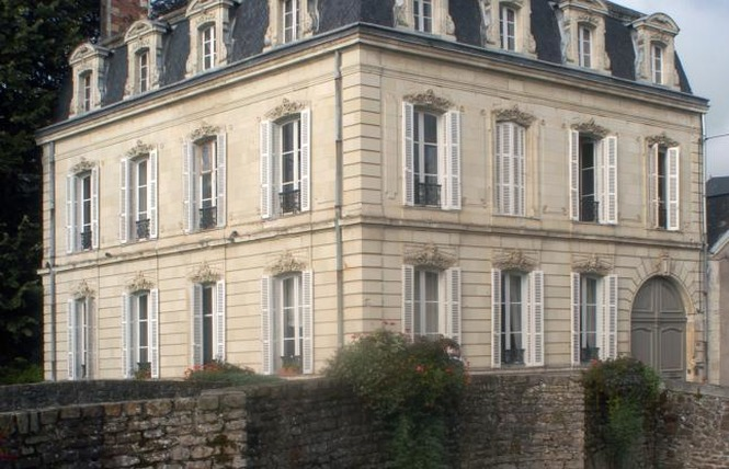 CHAMBRES D'HOTES LA DEMEURE DE L'ILE 1 - Craon